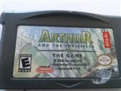 GAMEBOY ADVANCE ARTHUR AND THE INVISIBLES